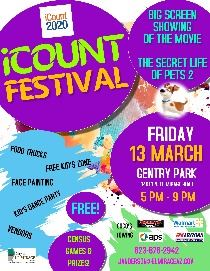 Image of iCOUNT FESTIVAL POSTER